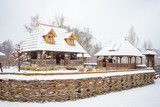 Traditional wooden home - 172306751