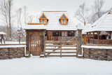 Traditional wooden home - 172306778