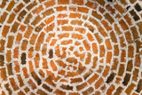 round brick ceiling - 172306949