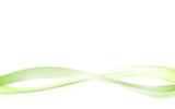Fototapety Green wave vector design white Background