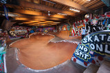 Internal skateboard track in Copenhagen - 172327785