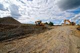 Baustelle straßenbau - 172334762