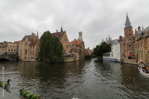 Spoed canvasdoek 2cm dik Brugge Canale di Bruges