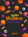 Happy Halloween Party Poster - 172359361