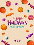 Happy Halloween Party Poster - 172359382