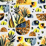 Abstract watercolor minimal seamless pattern. - 172386962