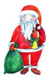 Watercolor Santa Clause - 172389151