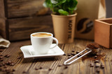 Cup of espresso coffee - 172413144