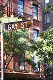 Gay street sign in New York, United States - 172422571