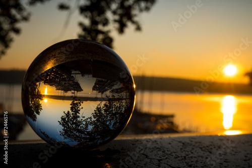 Foto Murales Sonne im Glas