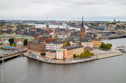 Fotobehang Stockholm Gamla Stan