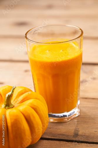 Fotobehang Sap pumpkin juice