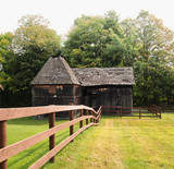 old delapidated barn - 172507567
