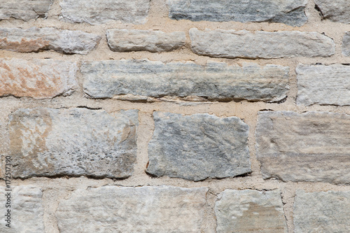 Foto op Plexiglas Baksteen muur Background of stone wall texture photo