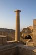 Acropolis of Lindos,  ancient temple in Rhodes