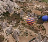 Hot Air Balloons Over Cappadocia, Turkey - 172576558