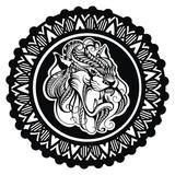 Tigers - logo, icon on white background