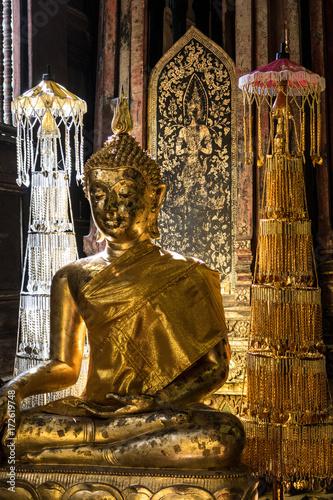 Foto op Canvas Boeddha golden buddha