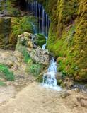 Dreimuehlen Waterfall near Nohn, Eifel Region, Germany.