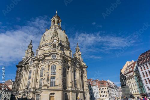 Staande foto Rome Dresdner Frauenkirche, Germany, Europe