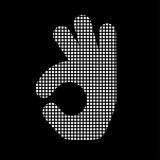 Pixel Icon - Handgeste - Zustimmung - 172650532