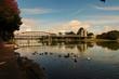Bridge over the Brazos River in Texas