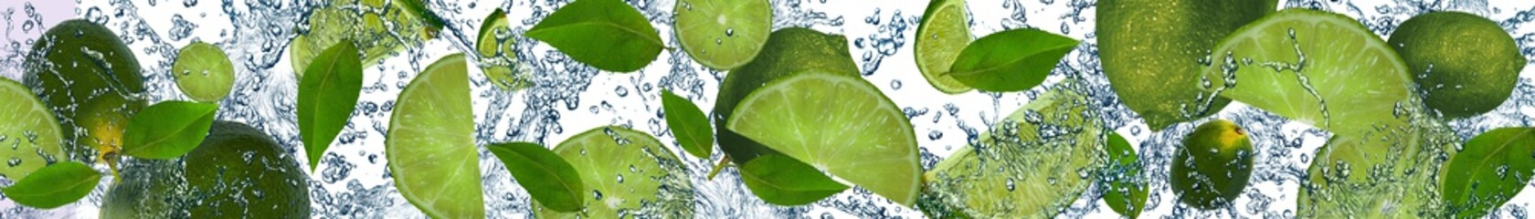 Limes in the water