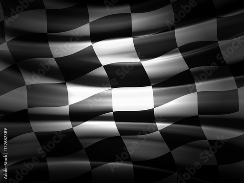 Tuinposter F1 Racing Flag
