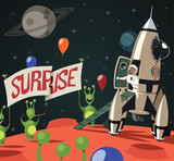 Surprise in the space - 172725141