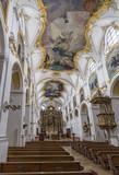 Kloster Scheyern Bayern Kirche Innen Panorama - 172742796