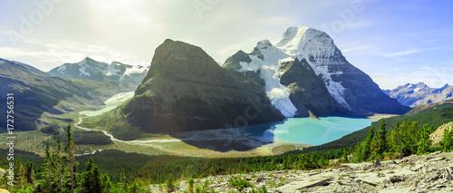 Poster Mount Robson Berg lake