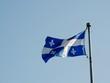 Bandiera del Québec, Montréal, Canada,