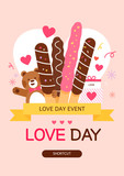 Love event illustration