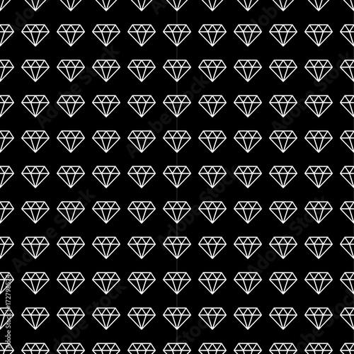 tlo,-biale-diamenty,-czarne-tlo,-wzor-tapety