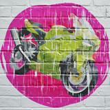 Graffiti, moto grunge - 172801913