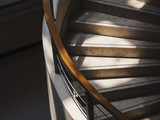 Stairs step Building Interior with lighting Architecture abstract