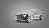 car diagnostic concept studio view 3d render image in grey - 172804992