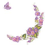 floral frame - 172809306