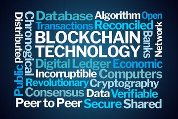 Blockchain Technology Word Cloud