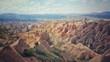 Capadoccia, Anatolia, Turkey. Beautiful rock formation landscape. - 172812947