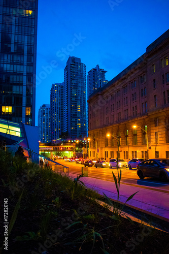 Foto op Plexiglas Toronto Nightlife Toronto