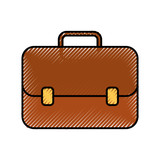 business briefcase elegance accessory handle vector illustration - 172829597