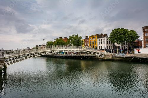 Penny Bridge Dublin Poster