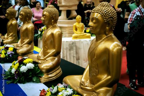 Aluminium Boeddha Buddismo