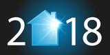 2018 - immobilier - maison - crédit - acheter - année - investissement - construction - 172850767