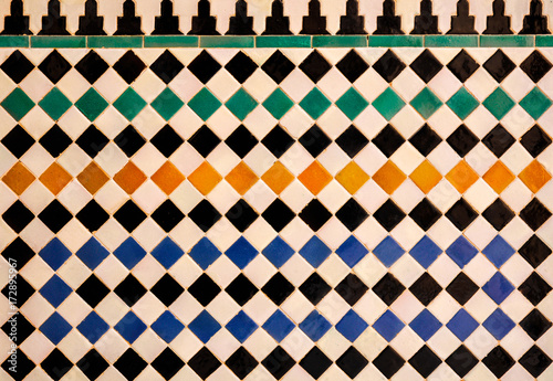 Fototapeta Artes decorativas, Alhambra de Granada, Al Andalus, turismo andaluz, España