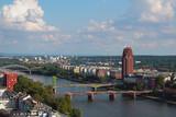 River and bridges in city. Frankfurt am Main, Germany - 172911141