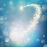 Glittering bokeh star dust template. EPS 10 vector - 172917140