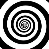 Spiral color black on the white background. Vector illustration - 172929130