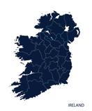 Map of Ireland.